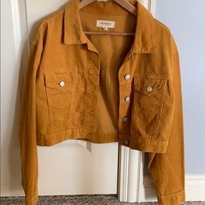 Pacsun marigold corduroy jacket